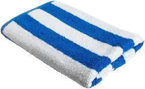 Pool hotel towel