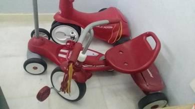 Basikal Scooter Radio Flyer