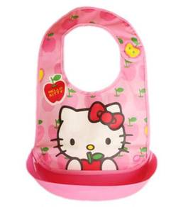 Cartoon PVC Portable Baby Feeding Bibs