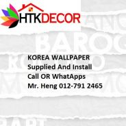 HOTDeal Design with Wall paper for Office 61BC
