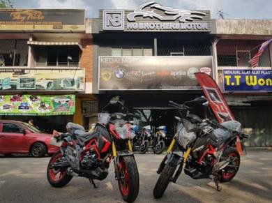 Gpx Demon GN 150 GN150 Special Edition