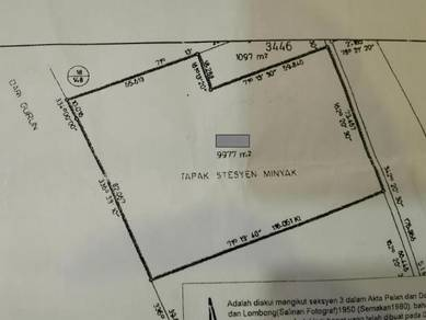 COMMERCIAL STATUS FREEHOLD INTERNATIONAL LOT Petrol Station Land