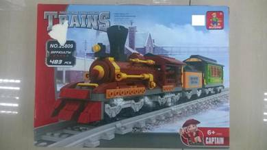 Kids Toy Lego Type Train ( Mainan Kereta Api)
