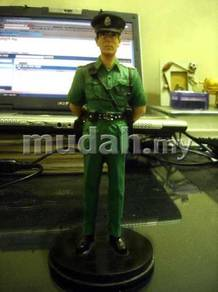 HK PTU Police and Green Police Figure