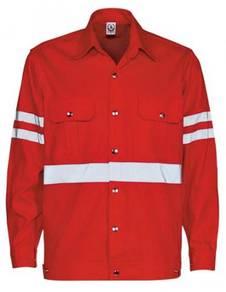Safety Reflective Jacket color Orange