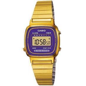 Watch- Casio Classic LA670WGA PURPLE -ORIGINAL