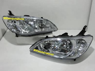 Honda Civic ES1 ES Head Light Lamp 03_05 1.7 NEW