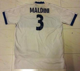 RARE Maldini Italy & AC Milan Legend Jersey XL