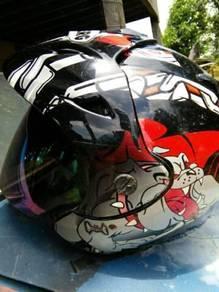 Helmet cabberg