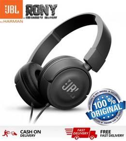 ORIGINAL JBL T450 On-ear headphones Pure Bass (Bla