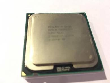Intel core 2 duo E8400 3ghz
