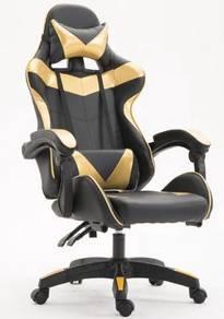 GOLD Gaming Chair Kerusi Dota Game Computer Office