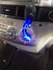 Toyota vellfire estima gear pedal led light