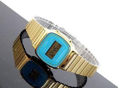 Watch- Casio Classic LA670WGA BLUE -ORIGINAL