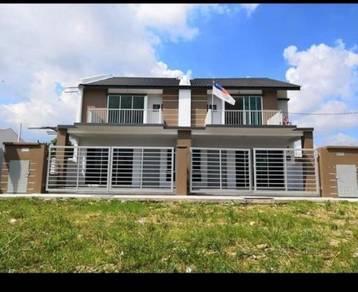 Projek 5 room discount dlm rm40k double storey Bandar Melaka