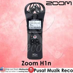 Zoom H1n Handy Recorder with SD Memory Card