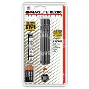 17RAGg MAGLITE XL200 3-CELL AAA LED FLASHLIGHT