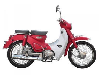 Wm motor cub classic 110 new
