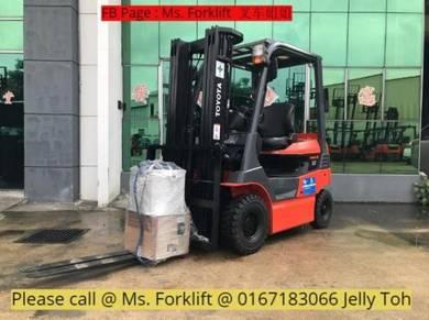 Toyota battery forklift 1.5 ton recon - Full Loan