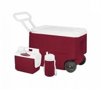 17RAG Igloo Wheelie Cool 38QT 36L Cooler BOX