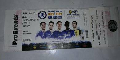 Chelsea Pre Season Ticket