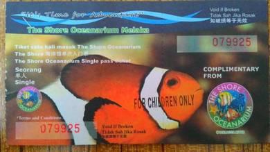 The Shore Oceanarium Melaka Tickets
