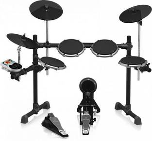 New Behringer 8pc Pro Electronic Drum Set XD80USB