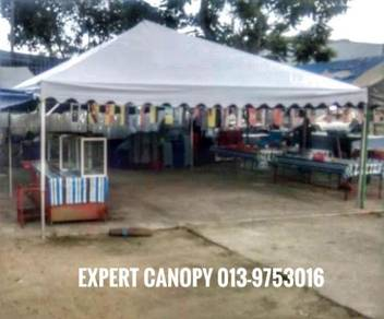 Canopy pyramid 20'x20 new set DIY je