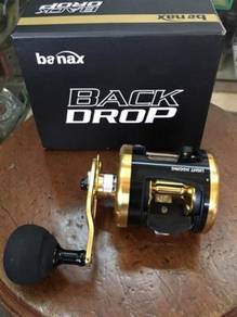 Banax Back Drop 100LH / 300LH Korea Fishing Reel