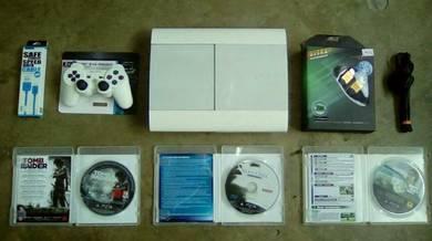 Ps3 500GB & 12 Games (D)
