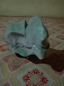 Salam batu gunung berbentuk itik untuk di jual