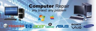 Computer repair, OS reformat, software recover