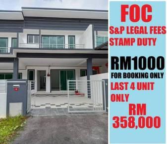 Gated And Guarded Double Storey Terrace At Taman Jana Jaya 3