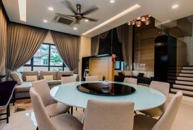 Laman Villa Bungalow 3 Storey Fully Furnished Mont Kiara North KL
