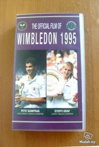 VHS Colour - The Official Film Of Wimbledon 1995