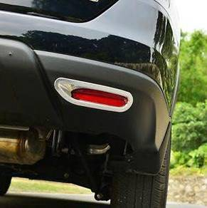 Nissan x-trail xtrail chrome rear reflector cover
