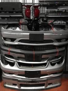 Bmw e46 , e36 & Mercedes W203 bumper depan origina
