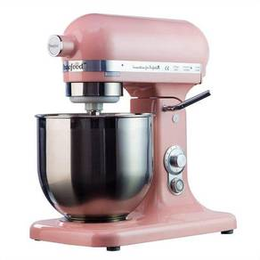 Stand mixer pushbutton top