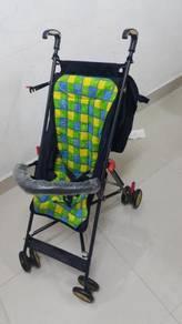Kereta tolak bayi baby stroller lipat
