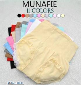 MUNAFIE High Waist Slim Hip Up Lace Panties