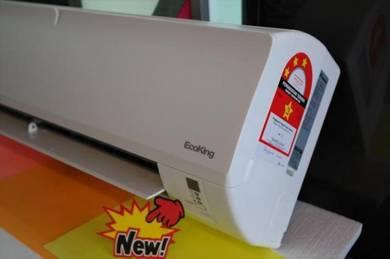 New Daikin EcoKing 1hp Air Conditioner 9500-BTU