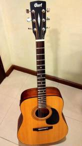 Cort semi acoustic guitar (with upgraded pickup)