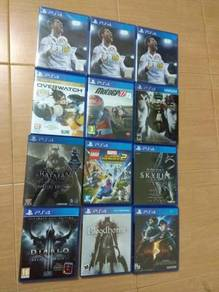 Ps4 used games - fifa 18, overwatch