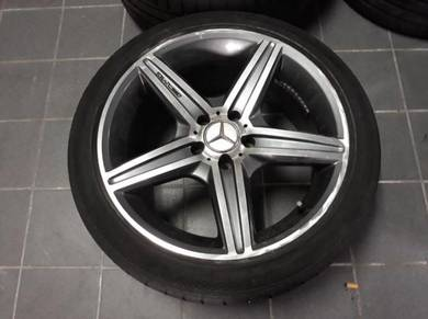 18 inch AMG Sport rim Mercedes Benz