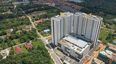 Twin Danga Apartment 1,097sqft Big Area For Sale At Johor Bahru