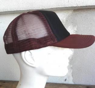 Trucker Cap Black - Brown