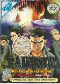 DVD ANIME Rainbow Nisha Rokubou No Shichinin