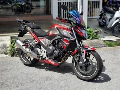 Honda CB500F used 2014 (cbr500,cb500x,cb500f)