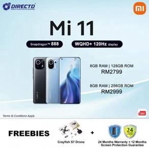 XIAOMI Mi11 Mi 11 (256GB ROM/S.DRAGON 888) MYset
