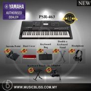 Yamaha PSR-E463 PSRE463 E463 Keyboard Value Pack